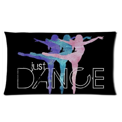 Generic Personalized Just Dance Beautiful Girls Art Design for Rectangle Pillowcase 20 x 36 ( One Side)