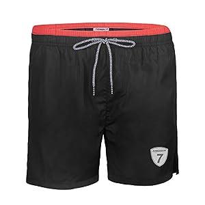 anqier Mens Swim Trunks Quick Dry Swim Shorts with Mesh Lining Swimwear Bathing Suits