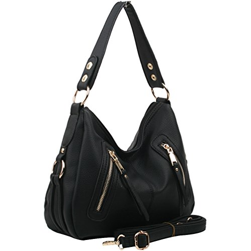 and Ladies for Bags Emotional Design Small Black Crossbody Shoulder Copi Women's 8x0SqnzTwI