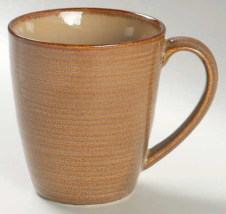 Sango Roma-Caramel Mug, Fine China Dinnerware