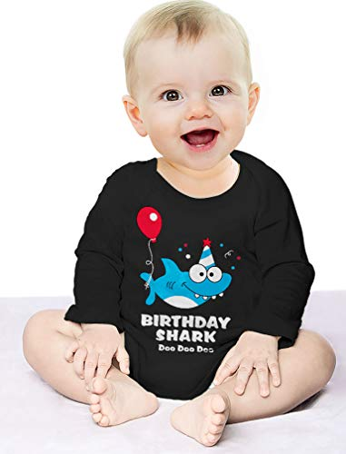 Baby-Shark-Doo-doo-doo-First2nd-Birthday-Shark-Outfit-Baby-Long-Sleeve-Bodysuit