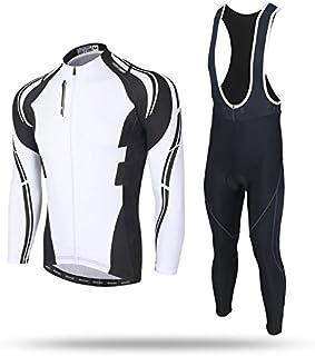 TeyxoCo New Uomini Ciclismo Sportivo Padded Jersey Set Spoz