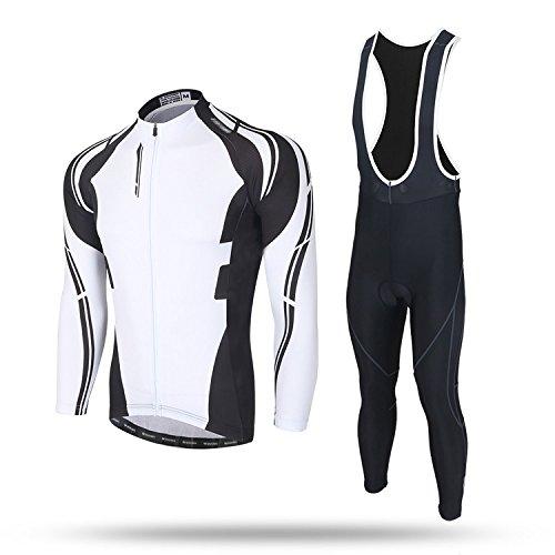 TeyxoCo New Trend Biking Cycling Padded Bid Jersey Set L