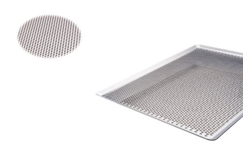 Paderno World Cuisine 25 1/4 Inch by 20 7/8 Inch Perforated Aluminum Baking Sheet