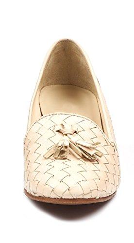 US Beige de BOBERCK Tacón Cuero de Grace Zapato 6 Mujer para Colección qxUFwPv