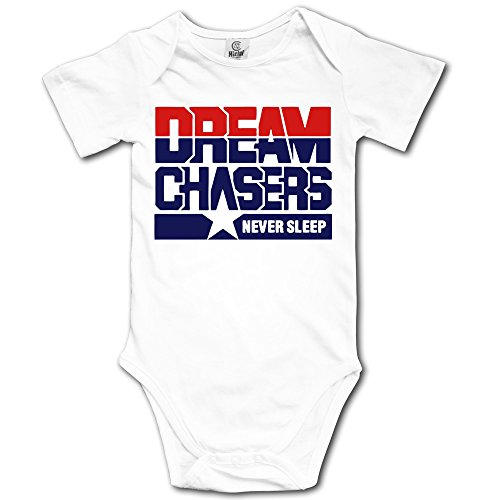 Dream Chasers - Stayflyclothing.com Baby Girls' White Romper - Apparel Dreamchasers