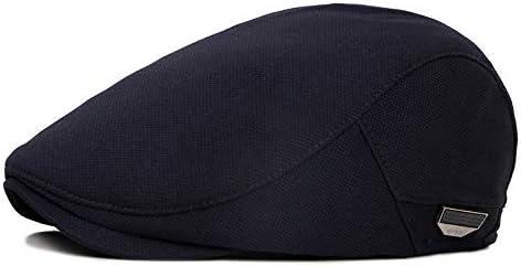 野球帽 キャスケット メンズ ハット ゴルフ ポリエステル 調整可能 ソフト シンプル ハンチング LWQJP (Color : 3, Size : Free size)