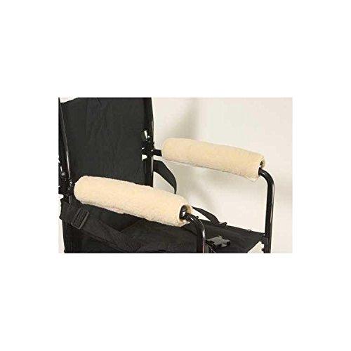 Wheelchair Armrests Fleece Pair for Full Arms 14 -15