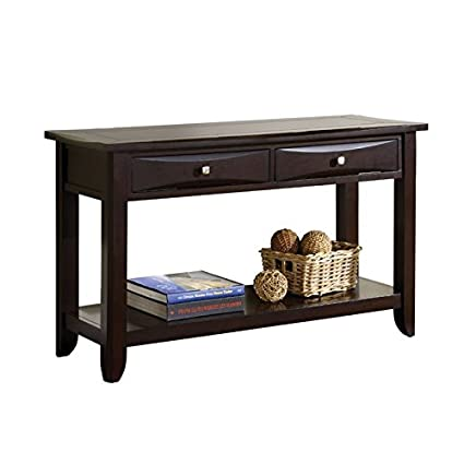 Amazoncom Furniture Of America Bonner Modern Console Table In