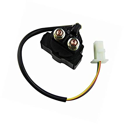 amazon com: starter relay solenoid for yamaha ttr225 ttr 225 1999 2000 2001  2002 2003 2004 new: automotive
