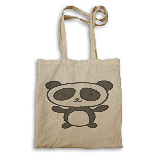 Modernes Panda-Gesicht Niedlich Tragetasche o790r