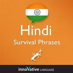 Learn Hindi - Survival Phrases Hindi, Volume 1: Lessons 1-30