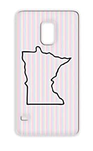 TPU Black Minnesota Places Cities Countries States Minnesota USA United Mn For Sumsang Galaxy S5 Dustproof Cover Case