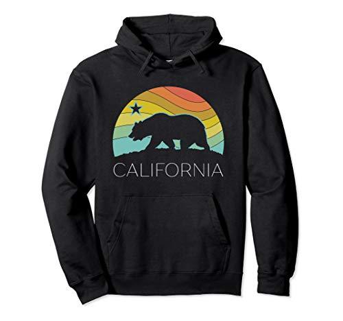 (Retro California Shirt Hoodie Bear Vintage Beach Cali Pride)