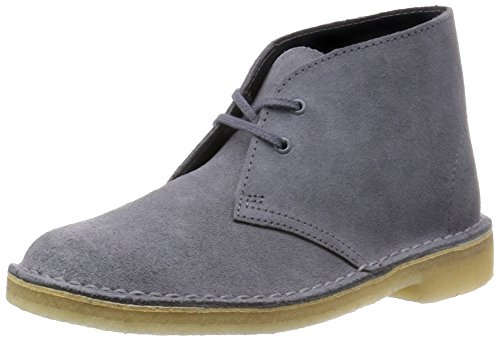 Clarks Desert Boot - Zapatos Derby para mujer Azul (Blue/Grey)