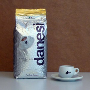 Danesi Gold Quality Espresso Coffee 6 X 2.2 Lbs Beans by Danesi