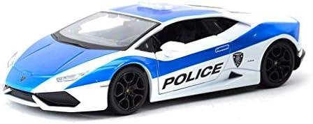 YN モデルカー 1/24シミュレータランボルギーニlp700-4スポーツカーダイキャスト玩具車モデルカークラシックプルバック車のおもちゃ金属合金のおもちゃ男の子用ギフト ミニカー