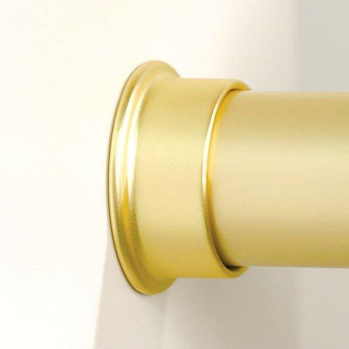 Synergy Wardrobe Tube Support, zinc, brass matt, for 1 5/16