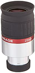 Meade Instruments 07735 Series 5000 1.25-Inch HD-60 25-Millimeter Eyepiece (Black)