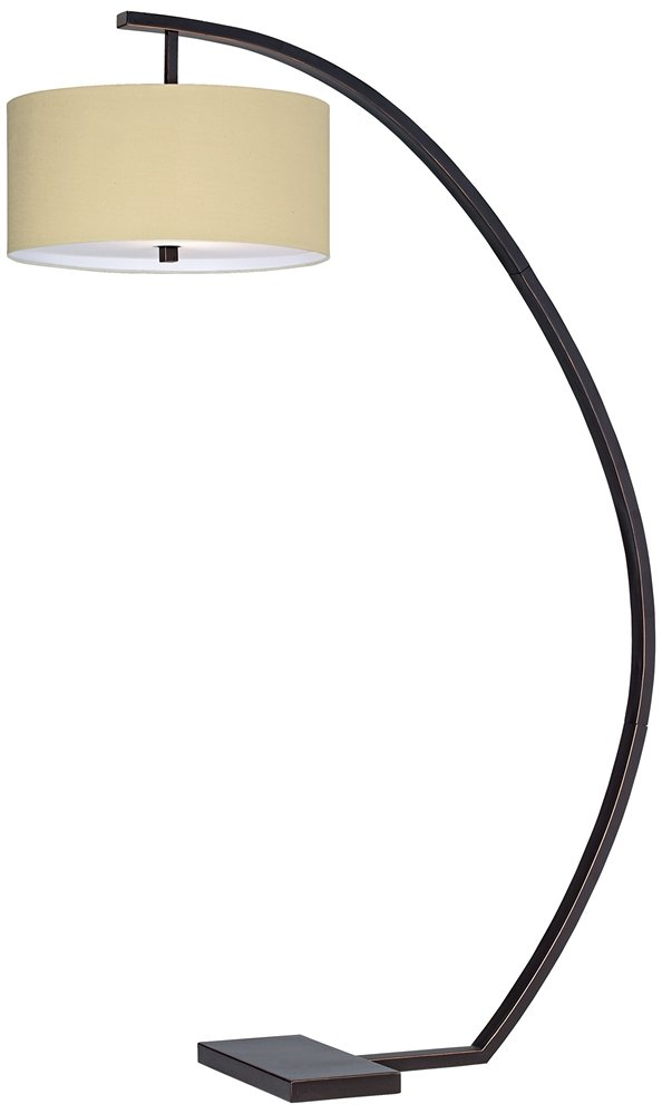 pacific coast lighting hanson arc floor lamp in oiled bronze car floor mats amazoncom - Arc Floor Lamps