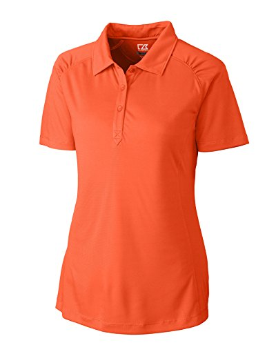 Cutter & Buck LCK02563 Women's CB DryTec Northgate Polo College Orange 2XL