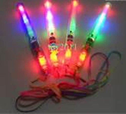 "Price comparison product image Flashing Panda 8"" LED Patrol Light Flashing Wand (Sensory toy, autism, fidget, visual stimulation therapy)"