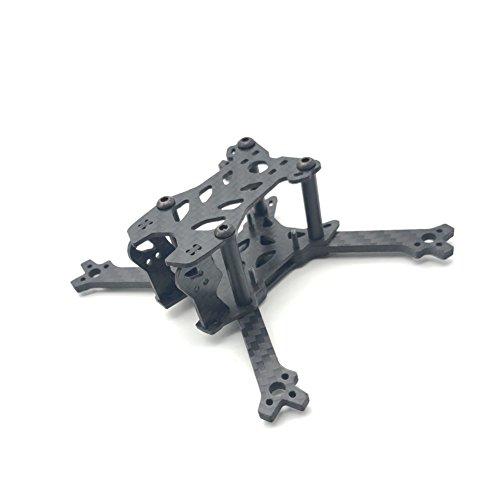 (ArRuissi F100VX Micro FPV Racing Drone Quadcopter Frame Carbon Fiber Kit 100mm Wheelbase - Support 11xx Brushless Motor)