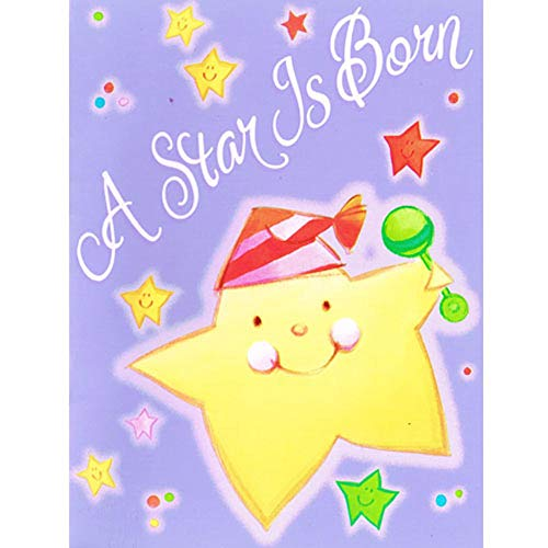 (Baby Shower 'Twinkle Twinkle' Birth Announcements w/Envelopes (8ct))