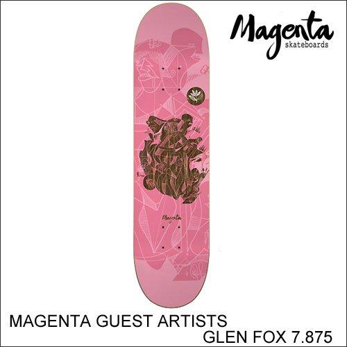 色々な MAGENTA FOX SKATEBOARD マジェンタ GUEST GLEN ARTISTS GLEN FOX 7.875インチ スケボー SKATEBOARD スケートボード スケボー デッキ B07D9CSKSX, 株式会社サトウ:e7b25111 --- a0267596.xsph.ru