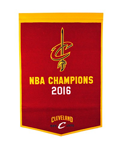 Winning Streak NBA Cleveland Cavaliers Dynasty Banner (Nba Championship Banner)