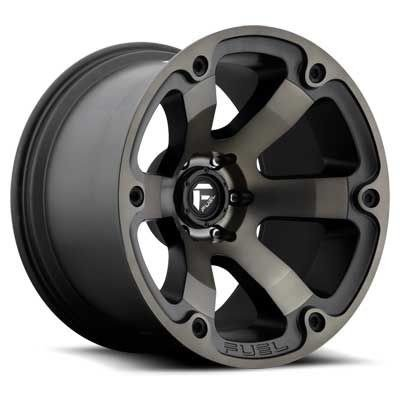 Fuel Offroad D564 Beast 18x9 6x139.7 -12mm Black/Machined Wheel Rim by Fuel Wheels