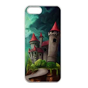 Welcome!Iphone 5/5S Cases-Brand New Design Castle Printed High Quality TPU For Iphone 5/5S 4 Inch -01