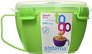 Sistema Noodle Bowl To Go 31.7oz / 940ml, Green (B00JANAPNA) | Amazon price tracker / tracking, Amazon price history charts, Amazon price watches, Amazon price drop alerts
