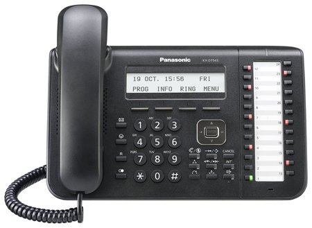 Price comparison product image Panasonic KX-DT543-B Digital Telephone (Certified Refurbished)