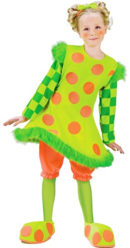 Lolli the Clown Costume - Toddler Large