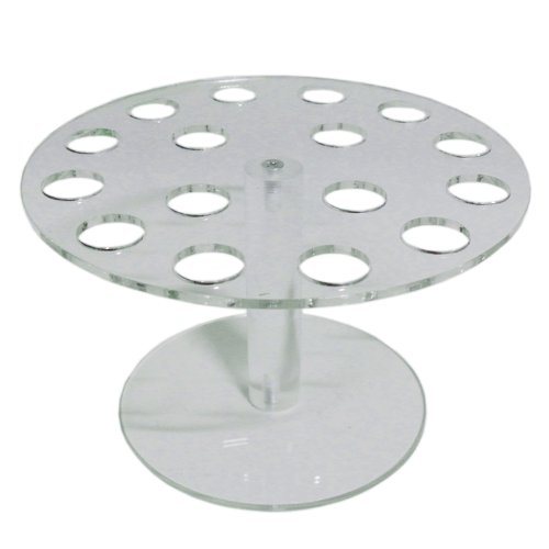 Cone Ice Cream Crystal (New 16 Cones Crystal Acrylic Ice Cream Candy Holder Stand Buffet Wedding Display)