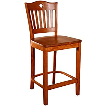 Wonderful Beechwood Mountain BSD 30BV C Solid Beech Wood Counter Stool In Cherry For  Kitchen
