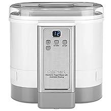CYM-100C Cuisinart Electronic Yogurt Maker with Automatic Cooling