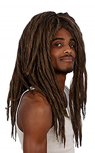 Kangaroo Brown Dreadlock Wig, Unisex; Color Choice]()