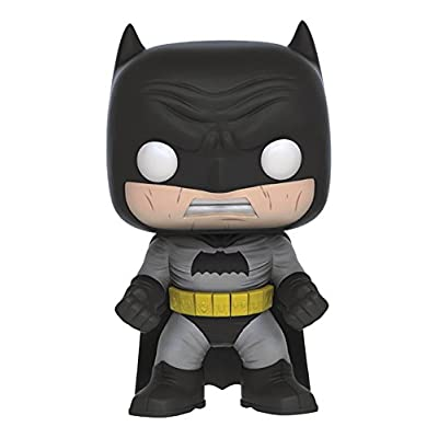 Funko Pop! DC Heroes: The Dark Knight Returns Batman (Black Version) Vinyl Figure: Toys & Games