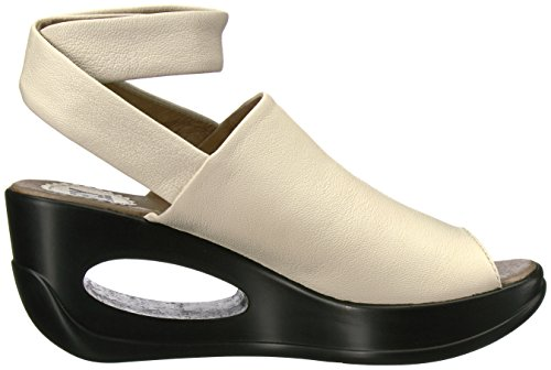 FLY London Womens Hini892fly Wedge Sandal Off White Mousse MR0sTmVHVN
