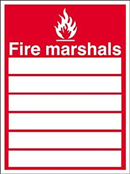 Fire Safety Sign Fire Marshalls List Perfect Safety Signs Work