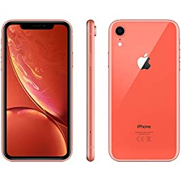 Apple iPhone XR, 128GB, Coral – For AT&T (Renewed)