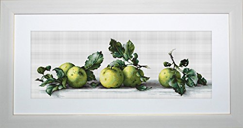 Luca-S Counted Cross Stitch Kit Apples Still Life