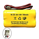 Product review for 4.8v 700MAH Ni Cd Battery Exit Sign Emergency Light