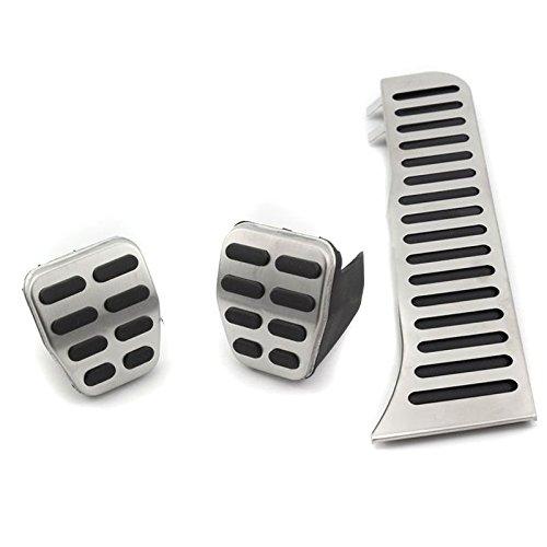 4pcs//set accesorios Acero inoxidable Pedal de goma para passat b6/B7/CC Sharan 7/N Alltrack