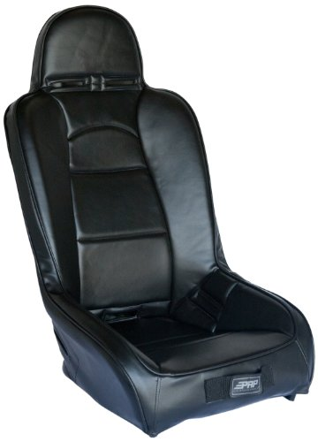 PRP Seats A20 All Black Vinyl High Back Suspension Seats for Polaris RZR
