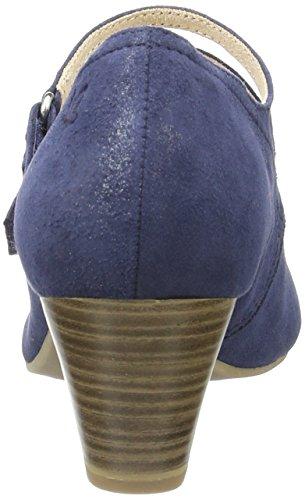 Caprice 24203, Zapatos de Tacón, Mujer Azul (Ocean Suede)