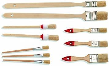 6 Heizkörperpinsel 60mm Eckenpinsel Lackpinsel Winkelpinsel Fassadenpinsel 0559