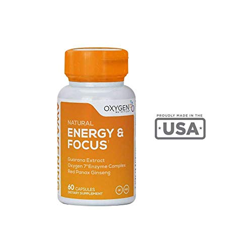 Awakening Formula - Mental Clarity Booster by Oxygen Nutrition | Healthy Energy Supplement to Increase & Boost Focus, Mood, and Overall Well-Being - 1 x 60 Count Pill Bottle (Packaging May Vary)